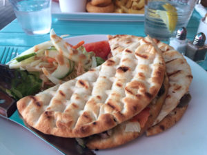 Coastal Bite, Westcliff-on-Sea - tuna flatbread