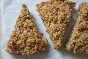 Bramley Apple and Nut Flapjacks