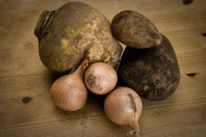 Ingredients for making Cornish Pasties