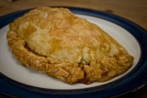 Finished Cornish Pasty