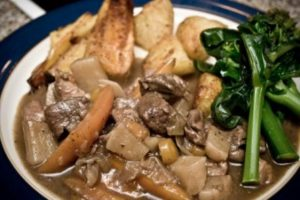 Game and Root Vegetable Stew