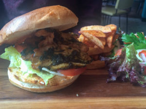 Asian Chicken Burger, The Junction