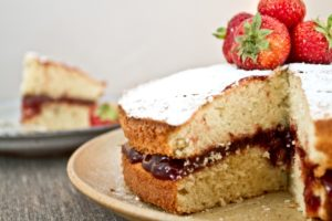 Balsamic Strawberry Jam close up