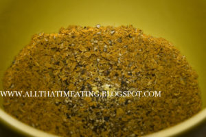 Spice mix for curry