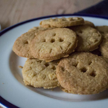 Granny's Oat Biscuits - pile