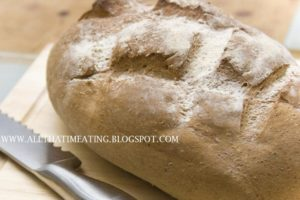 fresh bread to go with soup