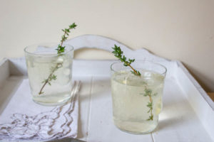 Lime, Thyme and Quince Gin Cocktail - ready to drink