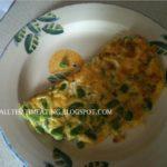 Broad Bean Omelette