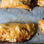 Smoked Cheddar and Pickled Onion Turnovers