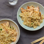 Smoked Chicken Fried Rice