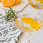 Orange and Rosemary Martini