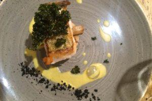 The Newbury cod with crispy kale
