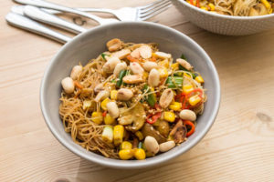 Vegetable Singapore Noodles