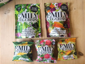 emily fruit crisps New snacks for Spring