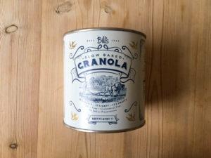 Bill's granola New snacks for Spring