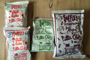 soffles pitta chips - little treats