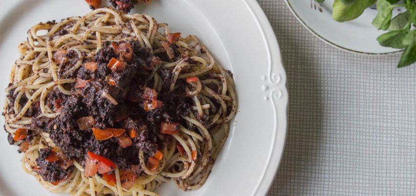 Sage and Black Pudding Pasta