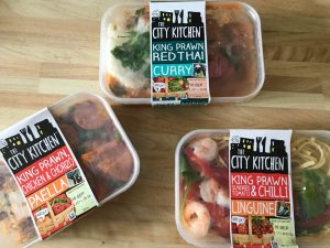 city kitchen meals with prawns