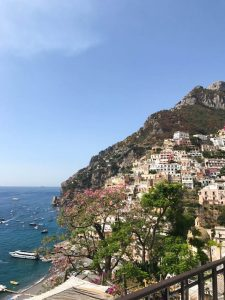 Positano on our Italian road trip