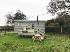 A Shepherd's Hut Getaway