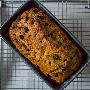 Mince Pie Fruit Loaf Baked