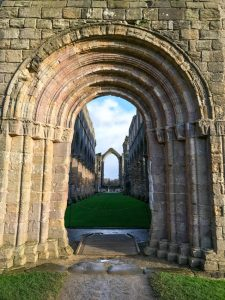 fountains abbey - the abbey