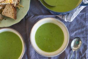 smoked pea and potato soup