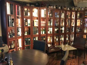 Slipens hotel whisky collection