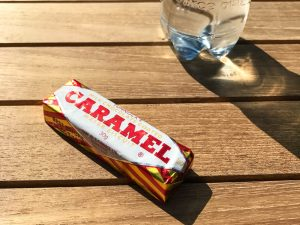 caramel wafer at caledonian canal centre