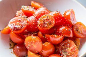 Oregano and Balsamic Tomatoes