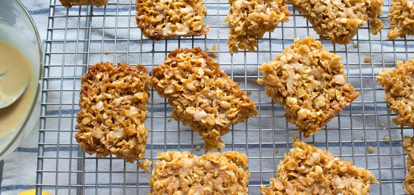 Lemon and Coconut Flapjacks