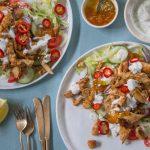 Tandoori Chicken Flatbreads