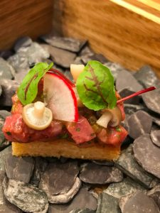 Steak Tartare canape