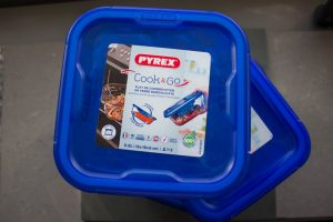 Cooking with Pyrex, the different dishes