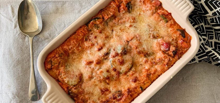 Easy Vegetable Lasagne