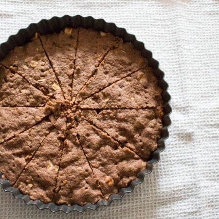 Shortbread in tin