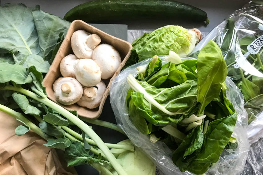 vegetable box recipes