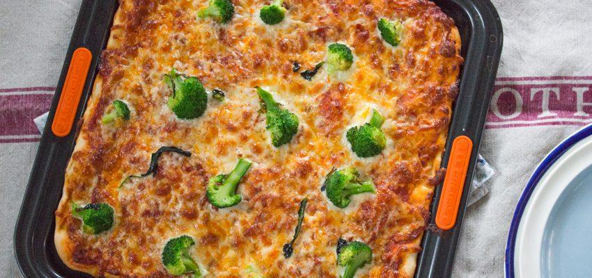 Nduja and Broccoli Pizza