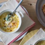 Eggs en Cocotte with Spinach
