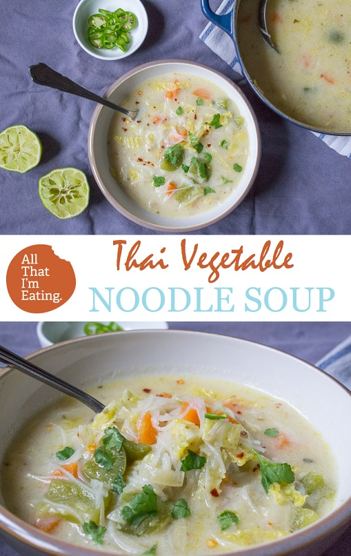 Thai Noodle Soup with Vegetables