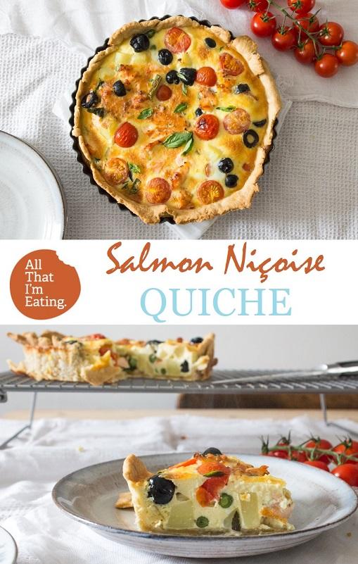 Pin for Salmon Nicoise Quiche